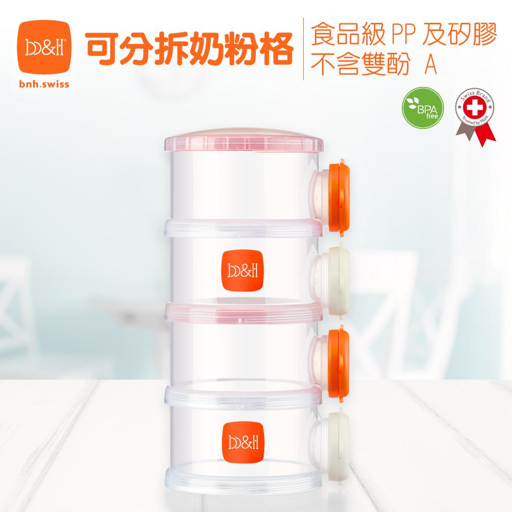 分拆式奶粉盒